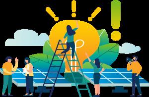 Soluções em energia limpa e renovável