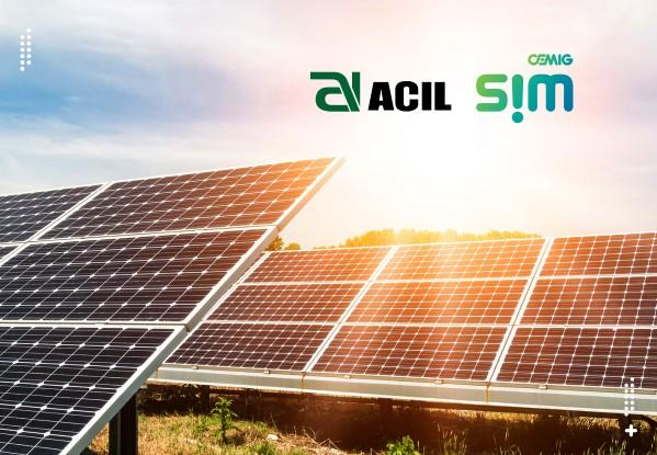 Energia solar por assinatura - Parceria Cemig SIM ACIL