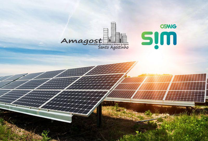 Energia solar por assinatura - Parceria Cemig SIM Amagost