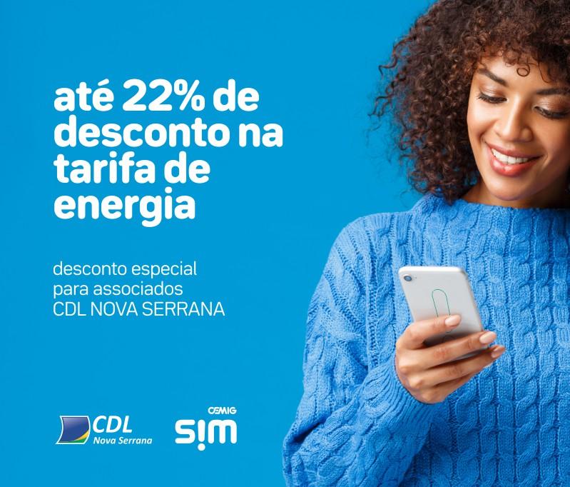 Energia solar por assinatura - Parceria Cemig SIM CDL Nova Serrana